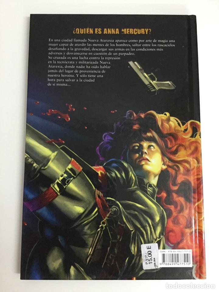 Cómics: Anna Mercury (Obra Completa) Edición Cartoné - Warren Ellis, Facundo Percio - EDT / Avatar - Foto 2 - 69173911