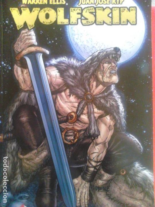 WOLFSKIN DE WARREN ELLIS (Tebeos y Comics - Glénat - Comic USA)