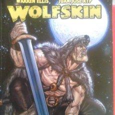 Cómics: WOLFSKIN DE WARREN ELLIS. Lote 70009333