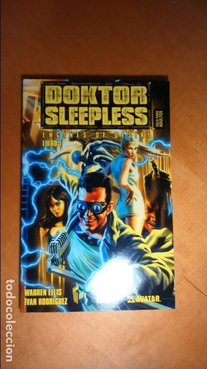DOKTOR SLEEPLESS LIBRO 1, GLENAT, AVATAR, WARREN ELLIS CON IVAN RODRIGUEZ (Tebeos y Comics - Glénat - Comic USA)