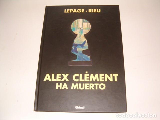 LEPAGE, RIEU. ALEX CLÉMENT HA MUERTO. RMT78392. (Tebeos y Comics - Glénat - Autores Españoles)