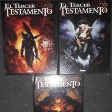 Cómics: EL TERCER TESTAMENTO LOTE PACK NUMEROS 1 2 Y 3 X.DORISON A.ALICE EDITORIAL GLENANT. Lote 73535947