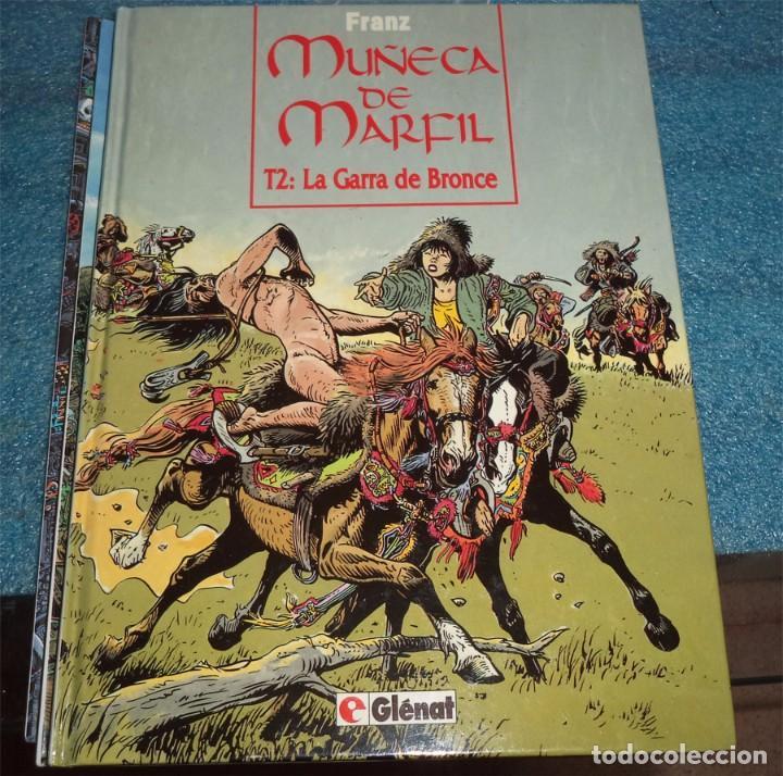 FRANZ MUÑECA DE MARFIL N.º 2 LA GARRA DE BRONCE ED. GLENAT PASTA DURA (Tebeos y Comics - Glénat - Autores Españoles)