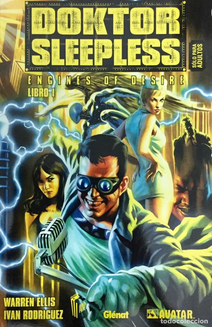 DOKTOR SLEEPLESS 1. ENGINES OF DESIRE - WARREN ELLIS, IVÁN RODRIGUEZ - GLENAT / AVATAR (Tebeos y Comics - Glénat - Comic USA)