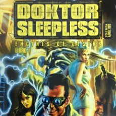 Cómics: DOKTOR SLEEPLESS 1. ENGINES OF DESIRE - WARREN ELLIS, IVÁN RODRIGUEZ - GLENAT / AVATAR. Lote 73754359