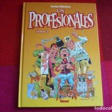 Cómics: LOS PROFESIONALES TOMO 3 ( CARLOS GIMENEZ ) ¡MUY BUEN ESTADO! TAPA DURA GLENAT 2003. Lote 73980947
