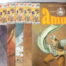 Comics: AMURA * LOTE DE 5 NUMEROS * SOLO FALTA EL 1 ** GLENAT. Lote 74235819