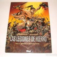 Cómics: LAS LEGIONES DE HIERRO. TOMO I: URKHAN, EL PRÍNCIPE ENEIDE. RMT78689. . Lote 74307639