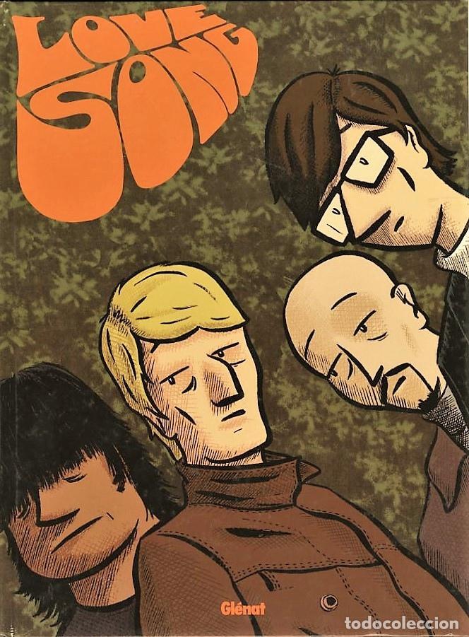 LOVE SONG, DE MANU (GLENAT, 2008) HOMENAJE A THE BEATLES. PORTADA INSPIRADA EN RUBBER SOUL. (Tebeos y Comics - Glénat - Autores Españoles)