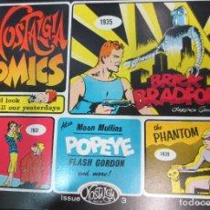 Cómics: NOSTALGIA COMICS Nº 3 EDIT ISSUE AÑO 1972. Lote 74786071