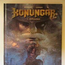 Cómics: KONUNGAR Nº 1 INVASIONES - RUNBERG Y JUZHEN - GLENAT - TAPA DURA. Lote 75110075