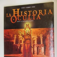 Cómics: LA HISTORIA OCULTA Nº 2 EL CASTILLO DE LOS DJINNS - PÉCAU, KORDEY, Y BEAU - GLENAT - TAPA DURA - MB. Lote 75111511