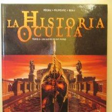 Cómics: LA HISTORIA OCULTA Nº 4 LAS LLAVES DE SAN PEDRO - PÉCAU, PILIPOVIC, Y BEAU - GLENAT - TAPA DURA. Lote 75114475
