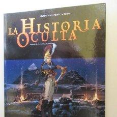 Cómics: LA HISTORIA OCULTA Nº 6 EL AGUILA Y LA ESFINGE - PÉCAU, PILIPOVIC, Y BEAU - GLENAT - TAPA DURA. Lote 75114647