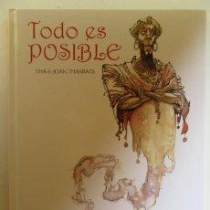 Cómics: TODO ES POSIBLE - JOAN THARRATS - GLENAT - TAPA DURA - MUY BUENO. Lote 75116979
