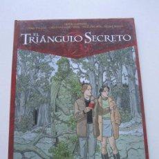 Cómics: EL TRIÁNGULO SECRETO 2. EL HOMBRE JOVEN DEL SUDARIO GLENAT BUEN ESTADO ETX. Lote 75598191