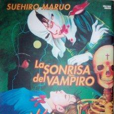 Cómics: LA SONRISA DEL VAMPIRO COLECCION COMPLETA DE Nº 1 Y Nº 2 DE SUEHIRO MARUO EDITORIAL GLÉNAT. Lote 75696243