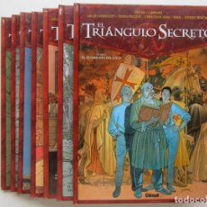 Cómics: EL TRIANGULO SECRETO - CONVARD, CHAILLET, FALQUE, GINE, PAUL Y WACHS - GLENAT - COMPLETA 7 TOMOS. Lote 76358387