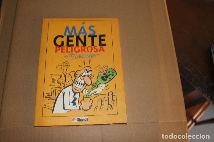 MÁS GENTE PELIGROSA, DE VÁZQUEZ, EDITORIAL GLENAT (Tebeos y Comics - Glénat - Autores Españoles)