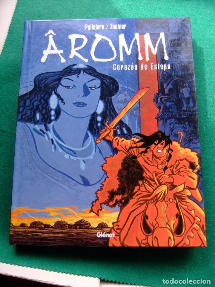 Cómics: AROMM 2 TOMOS COMPLETA 2002 GLENAT TAPA DURA - Foto 2 - 77870505