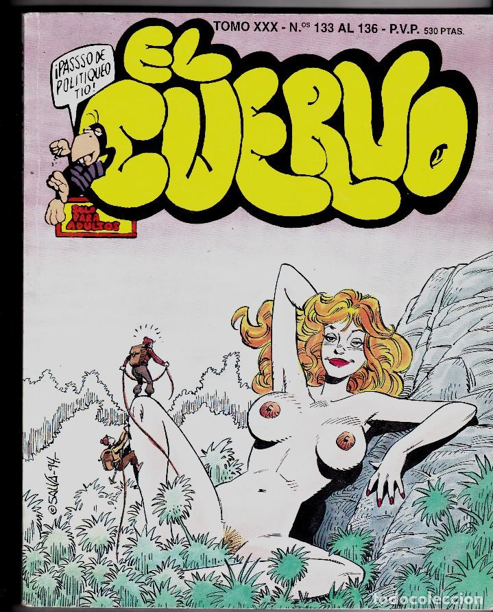 EL CUERVO TOMO XXX Nº 133 AL 136 (Tebeos y Comics - Glénat - Serie Erótica)