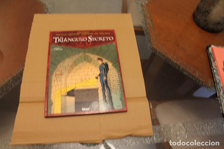 EL TRIÁNGULO SECRETO TOMO VII, TAPA DURA, EDITORIAL GLENAT (Tebeos y Comics - Glénat - Comic USA)