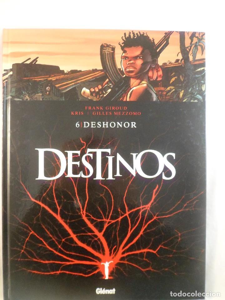 DESTINOS. NÚMERO 6 DESHONOR. F. GIROUD - KRIS - GILLES MEZZOMO. GLÉNAT (Tebeos y Comics - Glénat - Comic USA)