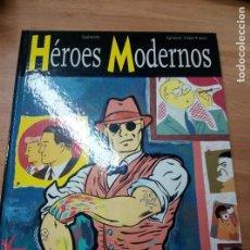 Cómics: HÉROES MODERNOS, DE GALLARDO Y VIDAL-FOLCH (GLÉNAT, 1998) TAPA DURA. Lote 79735989