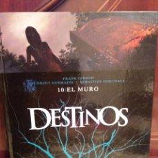 Cómics: DESTINOS - TOMO 10 -EL MURO-. Lote 80139557