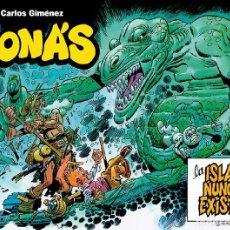 Cómics: JONÁS: LA ISLA QUE NUNCA EXISTIÓ, DE CARLOS GIMÉNEZ (GLÉNAT, 2003). 160 PGS. TAPA DURA.. Lote 179101630