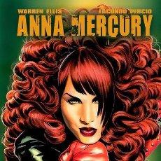 Cómics: ANNA MERCURY. DE WARREN ELLIS Y FACUNDO PERCIO (EDT, 2011) EDICIÓN LIMITADA EN TAPA DURA.. Lote 222289403