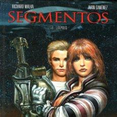 Cómics: SEGMENTOS, DE JUAN GIMÉNEZ Y MALKA (GLÉNAT, 2011) TAPA DURA.. Lote 132445933