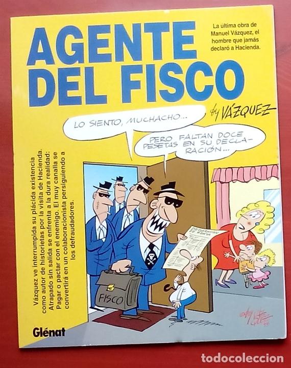 GENIOS DEL HUMOR 2 - AGENTE DEL FISCO DE MANUEL VÁZQUEZ (Tebeos y Comics - Glénat - Autores Españoles)