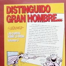 Cómics: GENIOS DEL HUMOR 5 - DISTINGUIDO GRAN HOMBRE DE MANUEL VÁZQUEZ. Lote 79874622