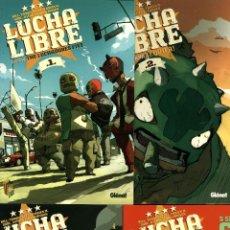 Cómics: LUCHA LIBRE 1-4 (COMPLETA), DE 11 AUTORES (GLÉNAT, 2009) NUEVOS. Lote 83895792