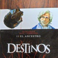Cómics: DESTINOS. NÚMERO 11 EL ANCESTRO. F. GIROUD - MATZ - J. BÉHÉ. GLÉNAT. Lote 97138700