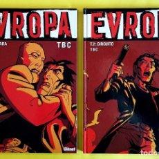 Cómics: EUROPA, DE TBC (GLENAT, 2005) COL. VIÑETAS NEGRAS. COMPLETA 2 TOMOS. NUEVOS. Lote 84200340