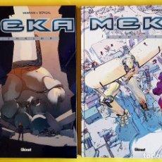 Cómics: MEKA 1-2 (COMPLETA), DE MORVAN Y BENGAL (GLÉNAT, 2005-2006) NUEVOS. Lote 84201832