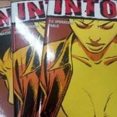 Cómics: INTOX, DE CHAILLET Y MANGIN (GLENAT, 2005-2006) COL. VIÑETAS NEGRAS. Lote 84707176