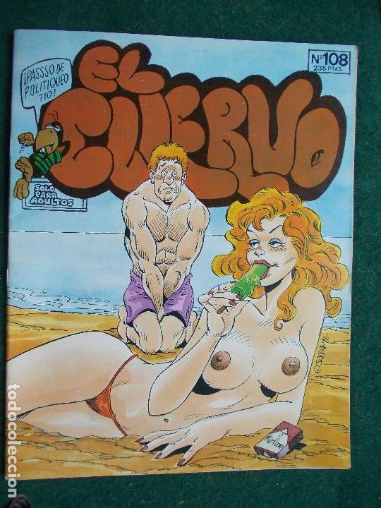 EL CUERVO Nº 108 (Tebeos y Comics - Glénat - Serie Erótica)