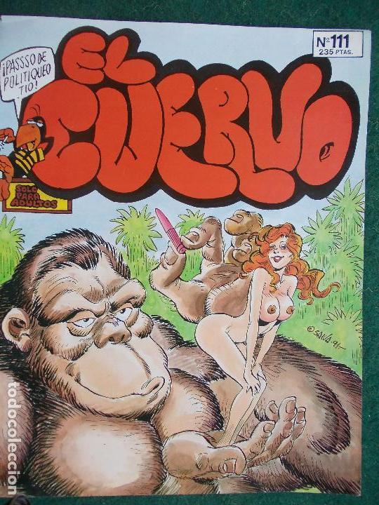 EL CUERVO Nº 111 (Tebeos y Comics - Glénat - Serie Erótica)