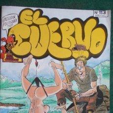 Cómics: EL CUERVO Nº 113. Lote 84707616