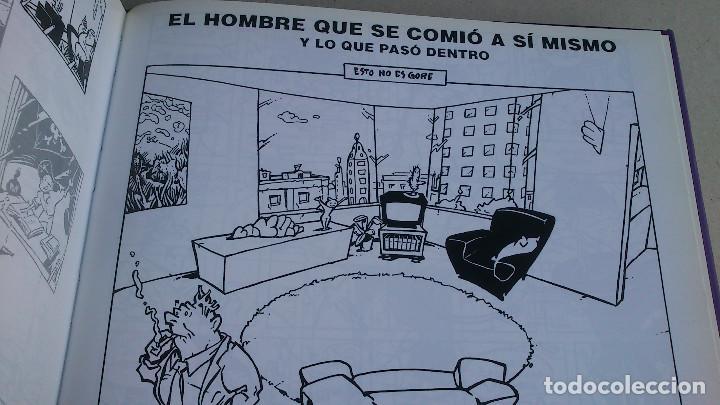 Cómics: EL HOMBRE QUE SE COMIÓ A SÍ MISMO - PERE JOAN - GLÉNAT - INTEGRAL - 1999 - NUEVO - Foto 12 - 85787536