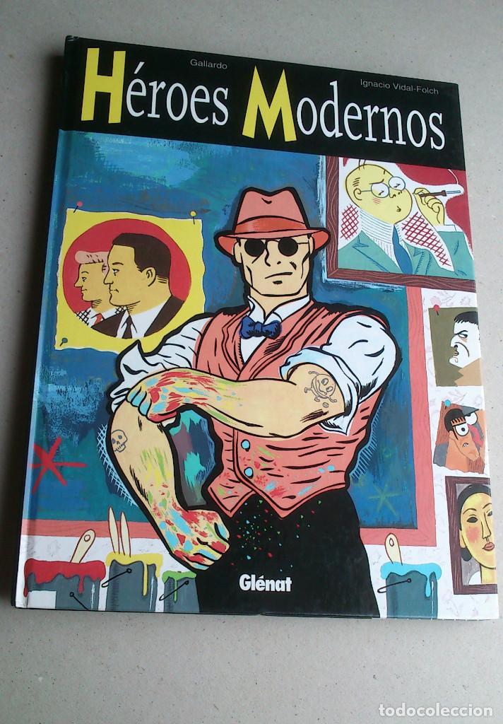 HÉROES MODERNOS - GALLARDO - VIDAL-FOLCH - GLÉNAT - 1ª EDICIÓN 1998 - NUEVO (Tebeos y Comics - Glénat - Autores Españoles)