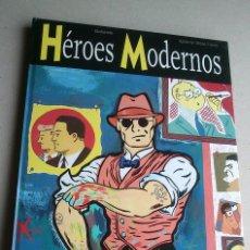 Cómics: HÉROES MODERNOS - GALLARDO - VIDAL-FOLCH - GLÉNAT - 1ª EDICIÓN 1998 - NUEVO. Lote 85788576