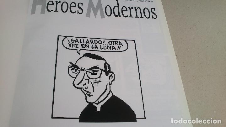 Cómics: HÉROES MODERNOS - GALLARDO - VIDAL-FOLCH - GLÉNAT - 1ª EDICIÓN 1998 - NUEVO - Foto 3 - 85788576
