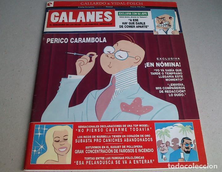 GALANES - NÚMERO 10 - GALLARDO & VIDAL-FOLCH - GLÉNAT - ENERO 1995 - NUEVO (Tebeos y Comics - Glénat - Autores Españoles)