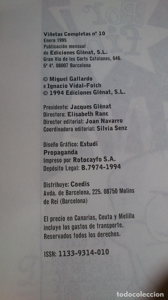 Cómics: GALANES - NÚMERO 10 - GALLARDO & VIDAL-FOLCH - GLÉNAT - ENERO 1995 - NUEVO - Foto 2 - 85789204