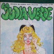 Cómics: JUDIA VERDE Nº 40. Lote 86188936