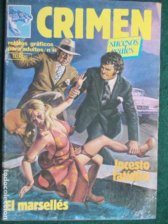 CRIMEN Nº 44 (Tebeos y Comics - Glénat - Serie Erótica)